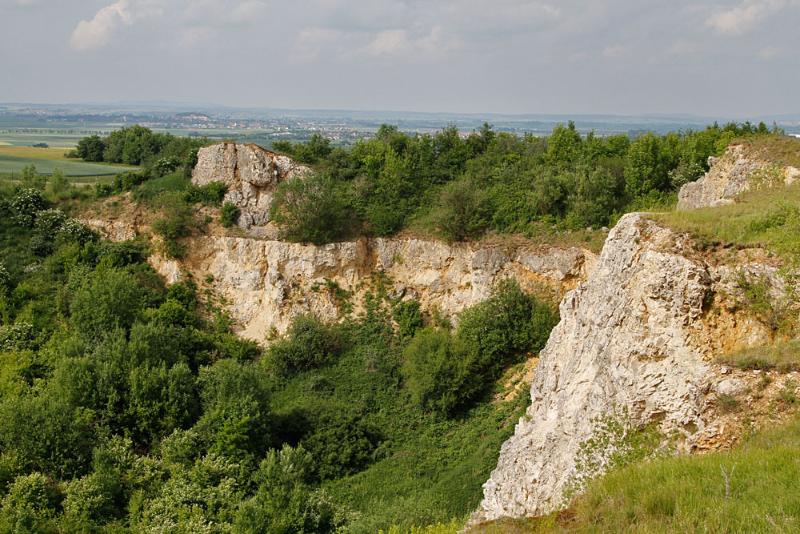 Steinbruch hinter den Ofnethöhlen
