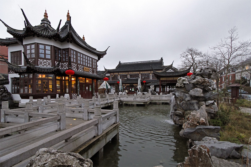 Chinesicher Teegarten