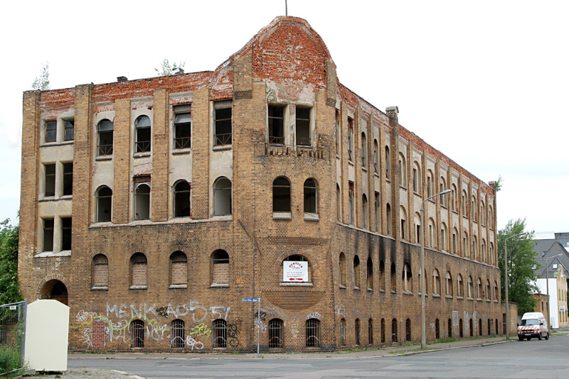typisches leipziger Lost Place Haus