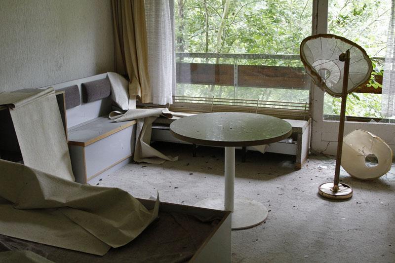 verlassenes FDGB-Ferienheim
