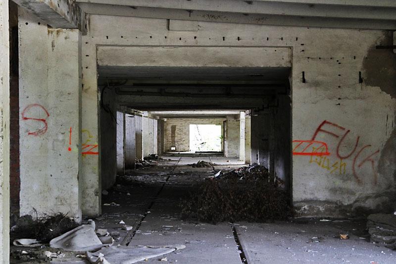 verlassene Hallen