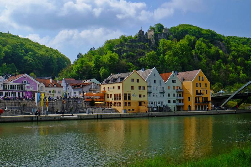 Stadtansicht mit Tachenstein