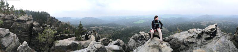 Panorama über die Häntschelstiege.